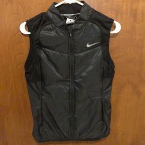 Women's Nike Runners Vest-  Black